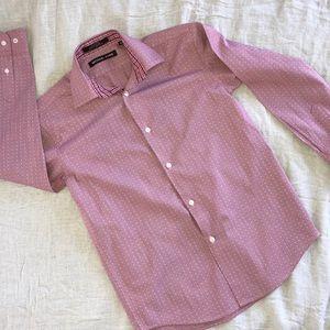 Michael Kors boys long sleeve button down shirt